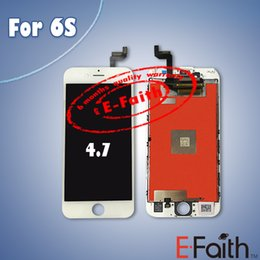 Wholesale For Original white iPhone S Grade A LCD Assembly Inch Display With Touch Screen Digitizer Replacement free DHL Shipping