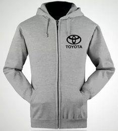 Wholesale Toyota S shops aftermarket standard custom clothing for men and women work nightwear jacket zipper sweatshirts dress garages