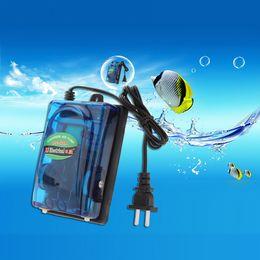 Wholesale Aquarium Air Pump W V Ultra Silent High Output Energy Efficient Fish Tank Oxygen Airpump aquario acuario H15043