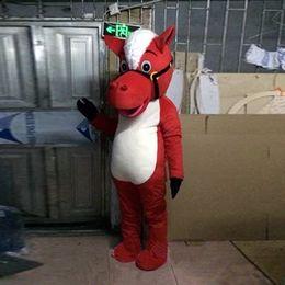 Wholesale Adult Horse Mascot Costume Horse Clothing Cartoon Character Mascot Costume M L XL Size