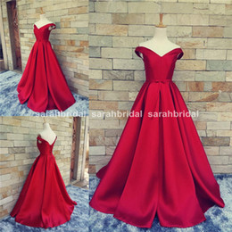 Red Carpet Long Formal Pageant Prom Gowns With Belt Sexy V Neck Ball Gowns Open Back Lace Up Vintage Party Evening Real Photos