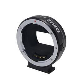 A7r sony en venta-Adaptador de montaje meike S-AF4 para Sony E-Mount para Canon EF / EF-S para Sony NEX-5 / NEX-3 / NEX-5N / NEX-5R / NEX-7 / NEX-6 / A7 / A7R / NEX- VG10