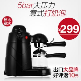 Wholesale Authentic Italian coffee machine home steam whole semi automatic coffee makers fight foam insulation instant anti dry