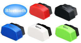 Wholesale NEW Vgate icar ELM327 Bluetooth OBD trip computer mobile phone support system Android IOS color options