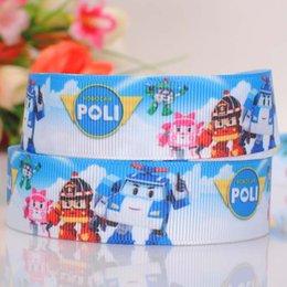 """Impression poly à vendre-7/8 """"(22mm) poly robo car pattern print bande dessinée grosgrain ruban ruban bricolage fait main ruban adhésif livraison gratuite"""