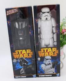 Wholesale Action en PVC de haute qualité Star Wars Figures jouet Black Knight Darth Vader Stormtrooper