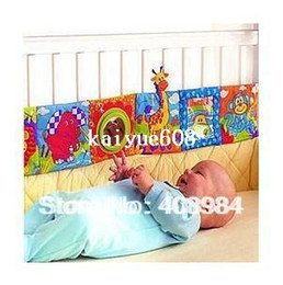 Tissu lamaze en Ligne-Lamaze livres de tissu lit autour de jouets nouveau-né pour bébé