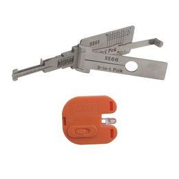 Recoge volvo en venta-Smart NE66 2 en 1 selección y decodificador automáticos para la selección de la cerradura de la herramienta del cerrajero de Volvo que envían libremente