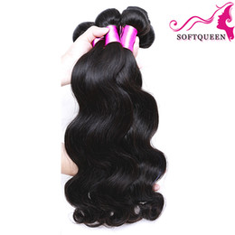 Brazilian Hair Products 3 or 4 Bundles Body Wave Virgin Human Hair 8a Peruvian Malaysian Indian Mongolian Remy Hair Extentions Wefts