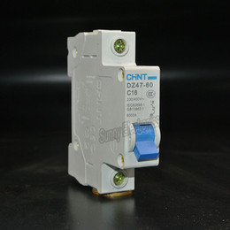 Wholesale CHINT DZ47 C16 P A Household miniature Circuit Breaker with over current and Leakage protection air switch
