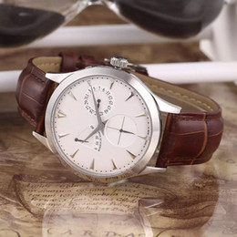 New arrivals luxury brand watch mechanical automatic watches men's business style wristwatch leather strap j02