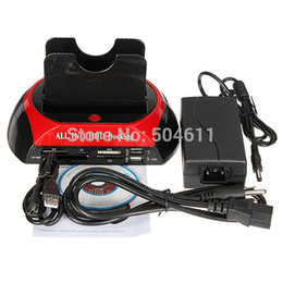 Wholesale Tinyinthebox TM inch inch SATA IED HDD Hard Disk Docking With Port USB2 Hub