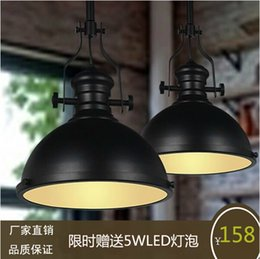 Wholesale Loft American country style chandelier LED retro art house restaurant industry engineering Funakura chandelier