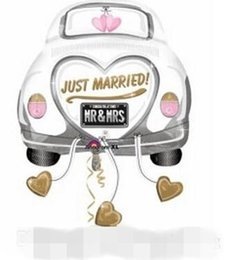 Wholesale Wedding Decoration balloons Married Car Balloons Factory Price Birthday Party Decorations Toy For Children Kids Gift Free Beautiful Balloons