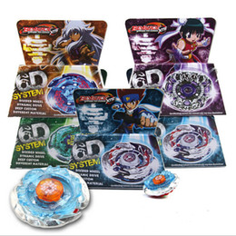 Wholesale New In Stock Metal Fusion D Rapidity Beyblade Galaxy Pegasus Ray Unicorno Samurai Pegasis Gladiator Bahamdia