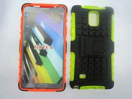 Wholesale For Samsung note combo tire pattern water sets clip bracket phone protective shell spot