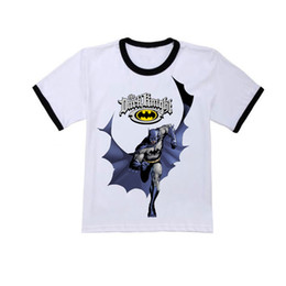 Wholesale-Summer Children's clothes batman short-sleeve T-shirt fashion family Boys, Girls T-shirt