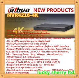 DHAUA Beneficio NVR 8 16 32CH 1U 4K Network Video Recorder Latest Model with Onvif 2.4 Support 2HDD NVR4216-4K