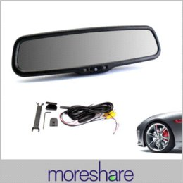 Wholesale 2014 New TFT LCD Rear View Moniors Car Mirror Monitor Auto Adjust Brightness Parking Assistance Car Monitor Display M37196