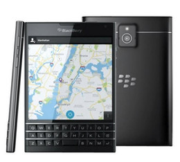 Original BlackBerry passport Q30 LTE cell Phone BlackBerry OS 10.3 Quad core 3GB RAM 32GB ROM 13MP Camera Smart Phone