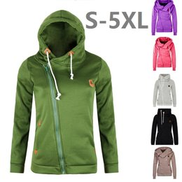 Women S-5XL Fashion Fleeces Sweatshirts Hooded Candy Colors Solid Sweatshirt Long Sleeve Zip Up Clothing Sudaderas Mujer DK603WY
