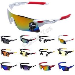 Wholesale-2015 Men Sunglasses UV400 Protection Sports Windproof Eyewear Women Mountain Bike Motorcycle Fashion Sun Glasses