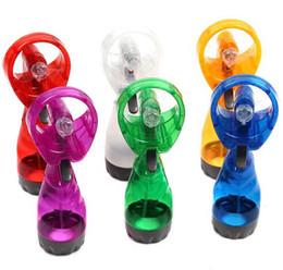 Acheter en ligne Eaux fraîches-Nouveau 2015 mini portable Portable Mini ventilateur de refroidissement ventilateurs Cool Mist Sport Beach Mini ventilateur de voyage sans voiture avec le paquet au détail