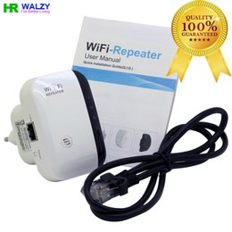 Wholesale 2016 Wireless N Wifi Repeater N B G Network Router Range Expander M bps dBi Antennas Signal Boosters Drop Shipping