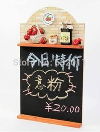Wholesale Store advertising POP blackboard message memo sign News Bulletin Board