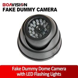 Wholesale Black Fake Dummy Camera Security Camera with LED Flashing Lights for Property Security Use