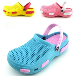 Wholesale-2015 new children's summer shoes sandals slippers for boys and girls EVA clog mules waterproof beach shore sandals 052-3