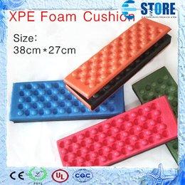 Wholesale Outdoor camping Pads Moistureproof cushion portable folding cushion XPE mat Honeycomb Massage Foam cushion M