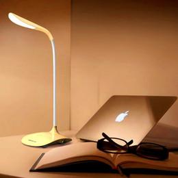 Wholesale Hot sale LED bulbs Clip desk lamp flexional rechangeable touch sensor fashion table light best novelty gift reading