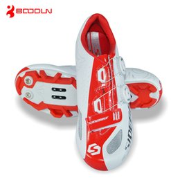 Wholesale-SIDEBIKE Breathable Athletic Cycling Shoes Bicycle MTB Bike Shoes Mountain Bike Self-Locking Racing Shoes zapatillas ciclismo