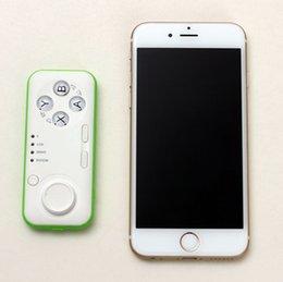 2017 androide de la palanca de mando inalámbrico Mini Bluetooth Joystick Gamepad multifunción Bluetooth Selfie Control Remoto Obturador Gamepad Ratón inalámbrico para iOS Android PC androide de la palanca de mando inalámbrico outlet