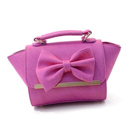 2015 New Arrival Bags for Women Metal Edge Bowknot 6 Colors Choice Trapeze Bow Women Bag Shoulder Bag Lady Handbag L4-1237
