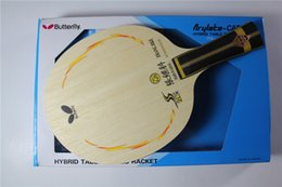 Wholesale Butterfly Zhang JIKE SUPER ZLC Table Tennis Racket Blade Carbon ping pong bat professional racket FL CS good elasticity ball type well