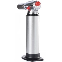 Hot Kitchen Torch 1300C Butane Scorch Torch Welding Jet Flame Lighter Giant Heavy Duty Butane Refillable Micro Culinary Torch Self-igniting