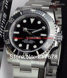 Wholesale Top quality Luxury Sapphire No Date Ceramic Black Bezel Dial automatic Men s Watch Watches