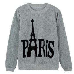 New Women Girl Sweatshirt Letter Print O-Neck Long Sleeve Pullover Top Casual Sports Hoodie Sweater