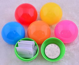 Wholesale cm opening promotional tennis ball lottery ball color game ball pingpong ball