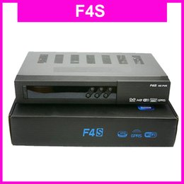 Wholesale 2PCS F4S FTA HD DVB S2 TV Receiver Set Top Box best F5S w Cccamd Scart AV GPRS Youporn Youtube