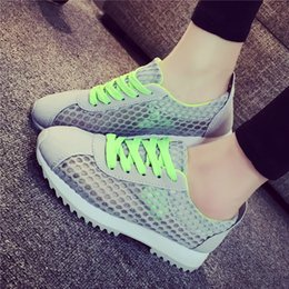 Fashion summer female air mesh Walking Shoes sneakers light breathable preppy lolita girly girls sports training walking shoes online