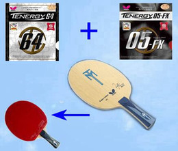 Wholesale Butterfly TIMO BOLL ALC Table Tennis Blades TABLE TENNIS RACKET LONG or short HANDLE Tenergy Fx Yasaka Soft R7