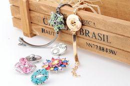 NOOSA DIY Bracele Trend Jewelry Interchangeable 18mm Ginger Snaps Button NOOSA in Charm Bracelet Vocheng Snap E58L
