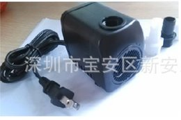 Wholesale US Plug L H W Submersible Water Pump With Flow Controller For Aquarium Fish Tank Fountain Hydroponic Cooling dandys