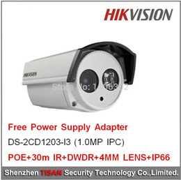 1.0Megalpixe,POE,security,video surveillance,CCTV Camera,home security,Hikvision network camera DS-2CD1203-I3