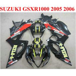 Bodywork fairings set for SUZUKI 2005 2006 GSXR1000 K5 K6 red black RIZLA+ 05 06 GSXR 1000 new fairing kit TF66