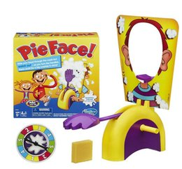 Wholesale Running Man Pie Face Board Games Pie Face Cream On Her Face Hit The Send Machine Paternity Toy with
