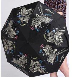 Wholesale piece Automatic Umbrella Anti uv Sun Rain Durable Sun Umbrella Folding Umbrella Female